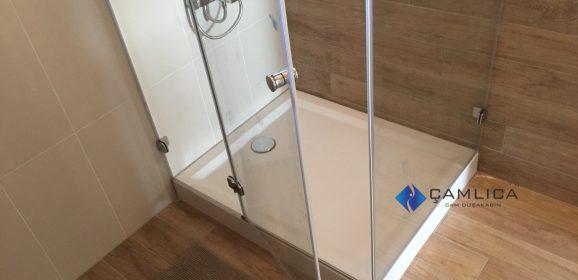 Banyo Dekorasyon Hazırlığı Monoblok DuşTeknesi