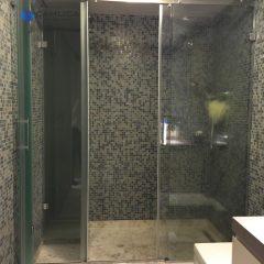 Özel Bölmeli Cam Banyo Kabini